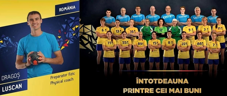 physical trainer handball romania