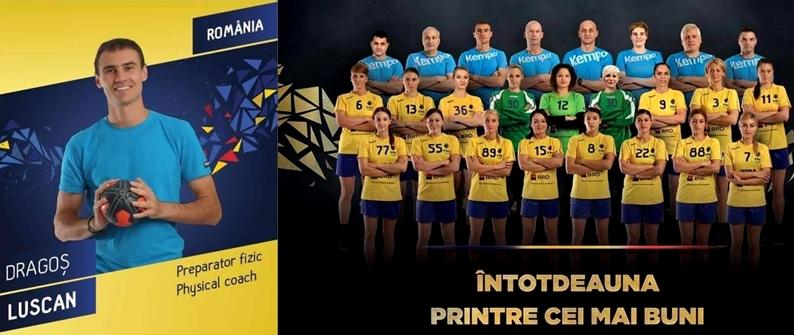 physical trainer handball romania